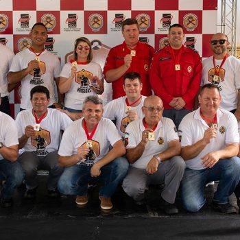 Seis empresas ligadas ao Núcleo de Segurança e Saúde no Trabalho da ACIJ participaram do 1º Desafio das Brigadas de Joinville