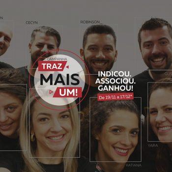 Traz Mais Um - Indicou, associou, ganhou - Associado ACIJ indicando empresas, profissionais liberais e/ou autônomos para fazer parte da associação ganhará Cartão 'Util Prêmio' no valor de R$ 50,00.