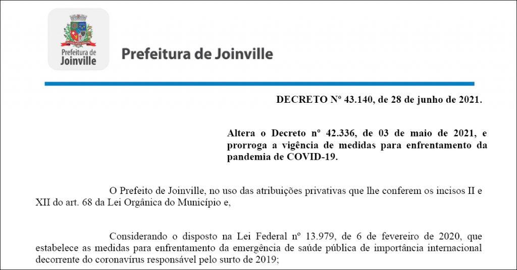 confira-decreto-43-140-que-determina- as-medidas-de-joinville-contra-a-pandemia-ate-dia-5