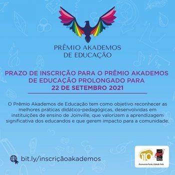 premio-akademos-de-educacao-prorroga-inscricoes-ata-22-de-setembro